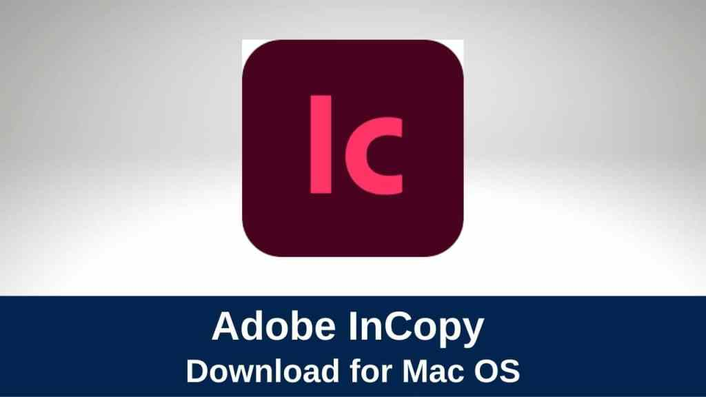download adobe incopy