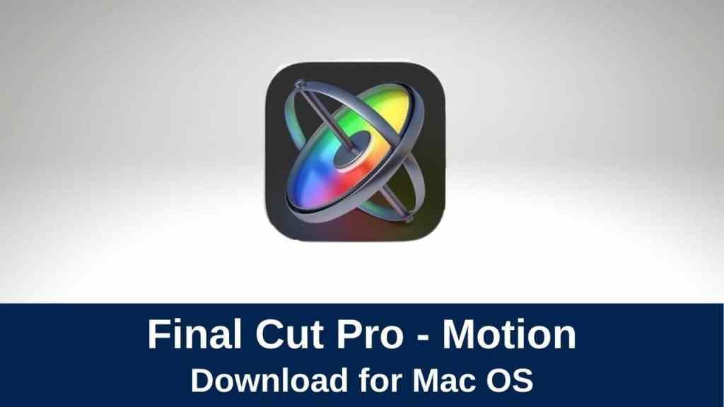 download apple motion