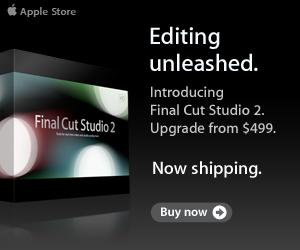 Apple Store Final Cut Studio 2