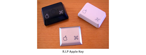 A moment of silence for the Apple key  MacDailyNews  Welcome Home