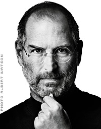 Apple co-founder Steve Jobs