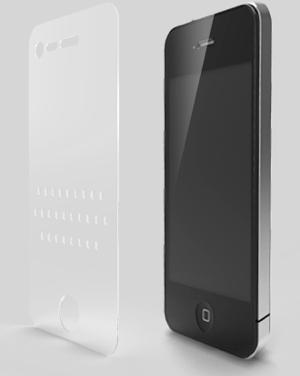 4iconcepts' 4iThumbs iPhone 4 keyboard overlay