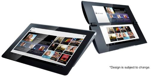 """""""Sony Tablet"""" S1 (Left), S2 (Right)"""