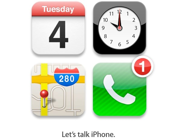 Apple special media event, Let's Talk iPhone, October 4, 2011