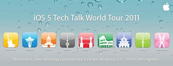iOS 5 Tech Talk World Tour 2011