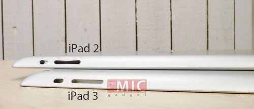 iPad 3 vs. iPad 2 case - M.I.C. Gadget