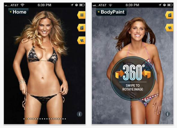 Sports Illustrated Swimsuit 2012 app for iPad, iPhone, iPod touch