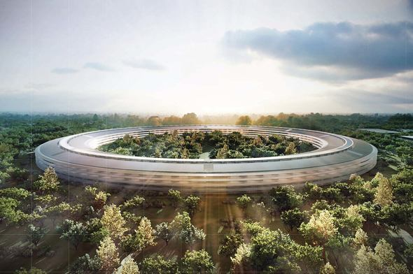 Apple Campus 2 project - Cupertino, CA