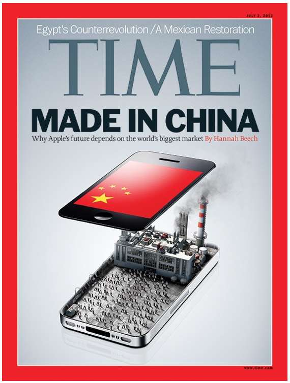 TIME Magazine cover: The Cult of Apple in China