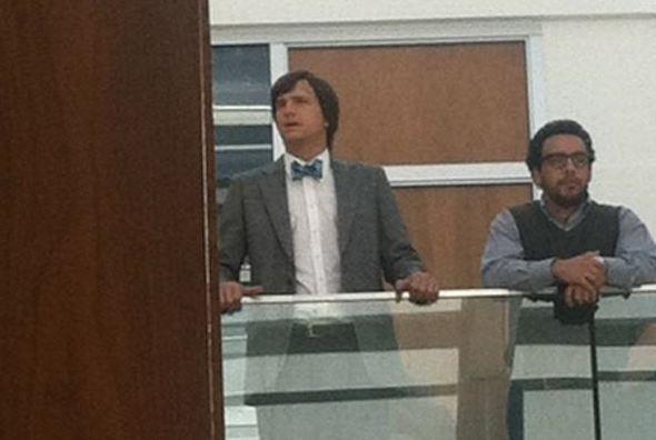 """Ashton Kutcher as Steve Jobs in """"jOBS"""""""