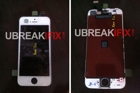 Purported iPhone 5 screen parts