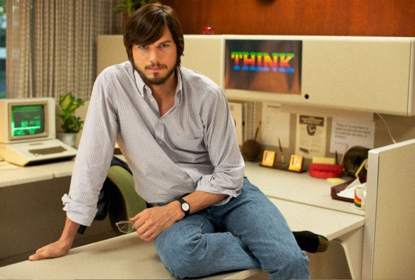 Ashton Kutcher as Steve Jobs (Photo by Glen Wilson/Sundance)