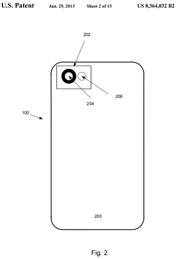 "US 8,364,032, ""Light isolating protective cover for small form factor electronic device"""