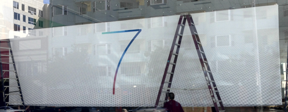 WWDC 2013 iOS 7 banner (photo: MacStories)