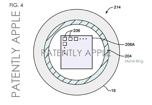 Apple's next patent FIG. 5 is a cross-sectional side view of the new Home button.