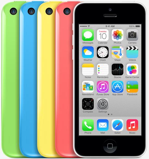 Apple's new iPhone 5c