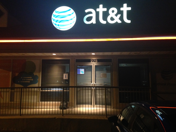 AT&T Mobility, Dover, Delaware, 10:55pm EDT
