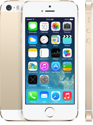Apple's iPhone 5s 64GB Gold