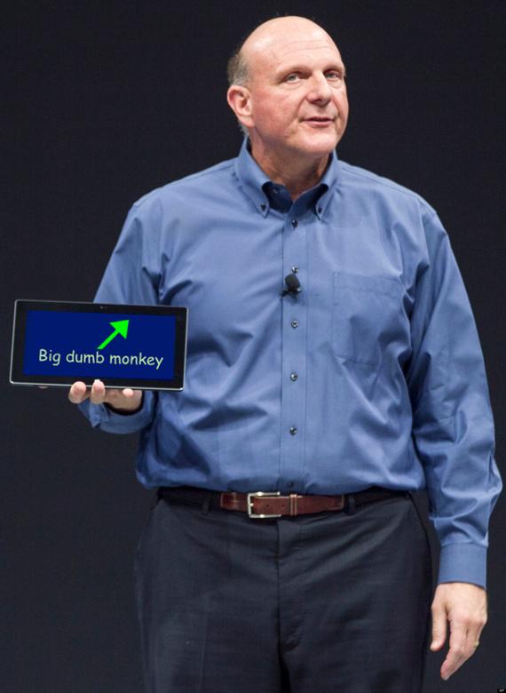 Microsoft short-timer Steve Ballmer