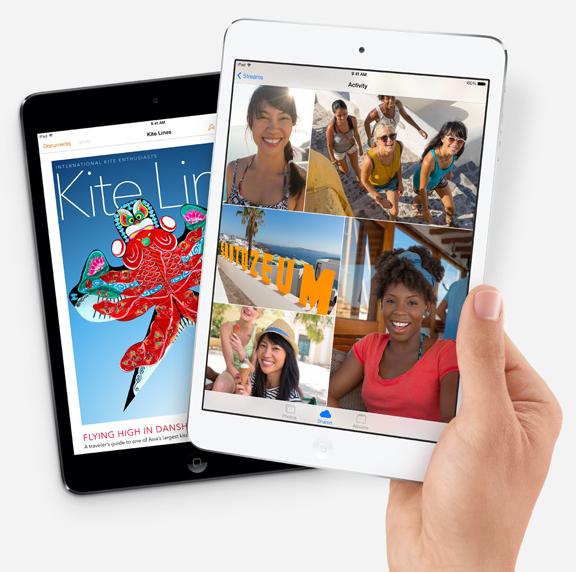 Apple's new iPad mini with Retina Display