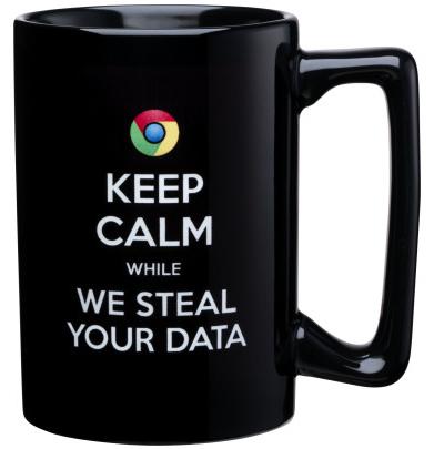 Microsoft's anti-Google mug