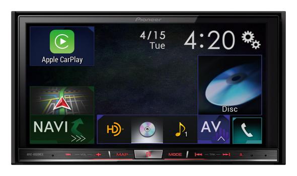 Pioneer AVIC-8000NEX with Apple CarPlay