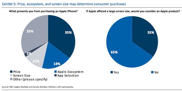 RBC Capital Markets iPhone survey