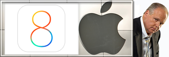 Limbaugh, iOS 8, Frequent Locations and Next Destination