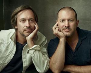Marc Newson (left) and Jony Ive