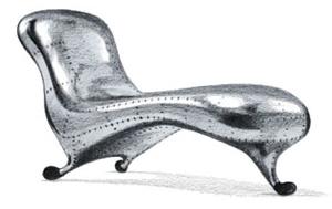 Lockheed Lounge by Marc Newson