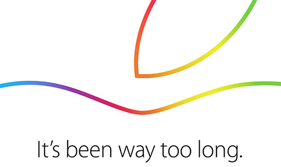 Apple's invitation to the media for their October 16, 2014 special event