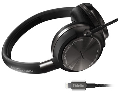 Phillips Fidelio NC1L Lightning-powered, noise-cancelling headphones