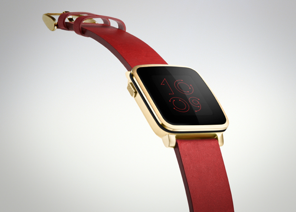 """The """"all-new"""" Pebble Time Steel"""