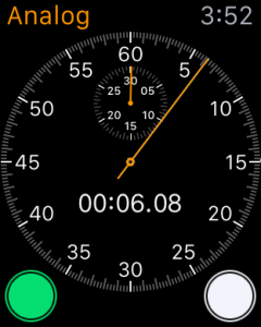 Apple Watch Stopwatch