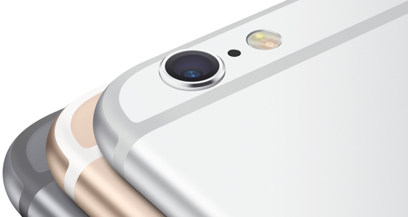 Apple's iPhone 6 and iPhone 6 Plus currently are offered in gold, silver, and space gray.