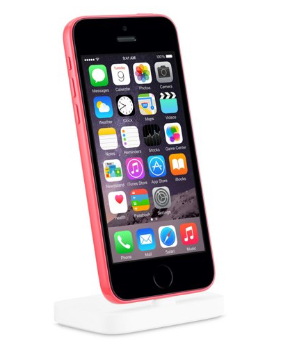 iPhone 5c with Touch ID (image from Apple Online Store via AppleInsider)