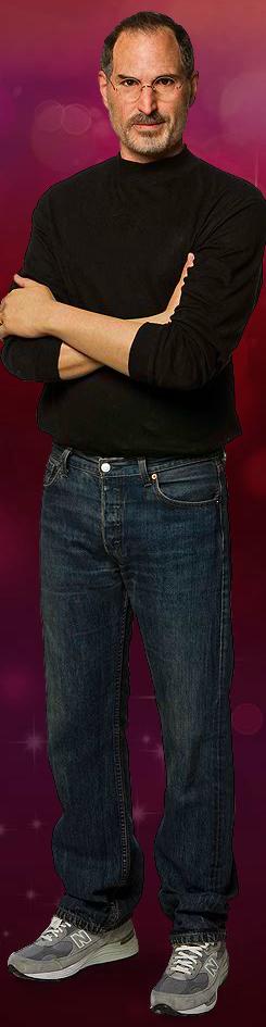 Madame Tussauds' wax figure of Steve Jobs