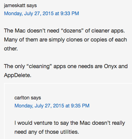 NoodleMac cleaner apps