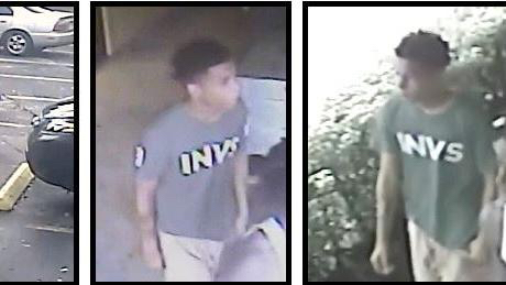 Surveillance images show a strong-arm robbery suspect who grabbed an iPad from a 4-year-old boy and ran away in Tamarac
