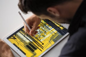 Apple's all-new iPad Pro with Apple Pencil