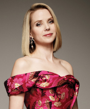 Yahoo CEO Marissa Mayer (photo: Art Streiber)