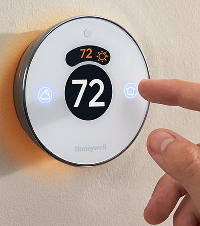 Honeywell Lyric Round Wi-Fi Thermostat with Apple HomeKit integration