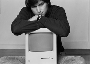 Steve Jobs in 1984 (Photo via Heritage Auctions/Norman Seeff)