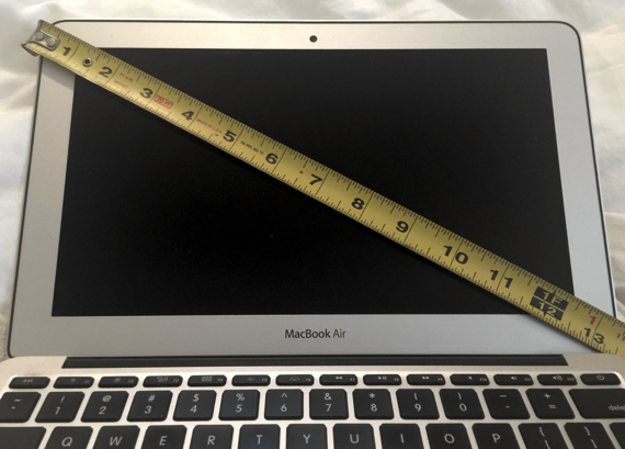 Apple's 11-inch MacBook Air's giant bezel leaves LOTS of room for improvement!