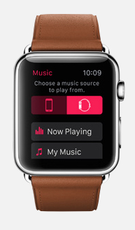 Play music without your iPhone.