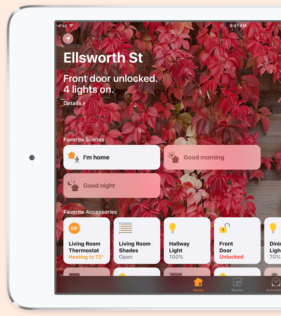 best Apple HomeKit devices: Apple's Home app lets you turn on lights, unlock doors, and even raise your window shades — all at once if you like.