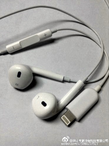 Apple's new Lightning EarPods?
