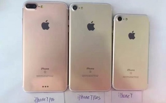 Apple's iPhone 7, iPhone 7 Plus and iPhone 7 Pro?