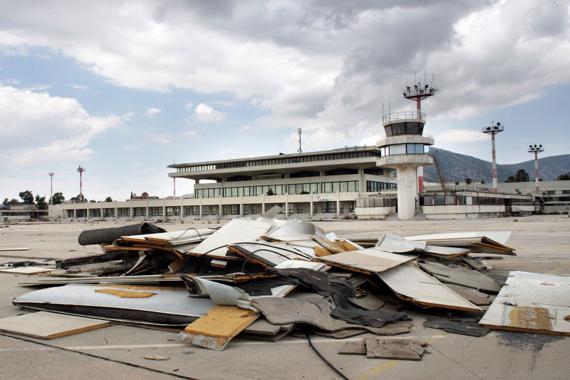 Abandoned airport (via Jalopnik)