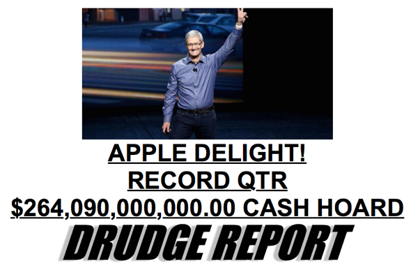 AAPl on Drudge Report